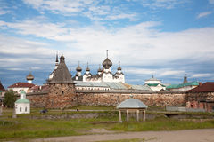 Kind on the Solovetsky monastery. Stock Image