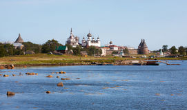 Kind on the Solovetsky monastery Royalty Free Stock Photo