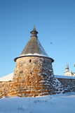 Kind on the Solovetsky monastery Royalty Free Stock Photography