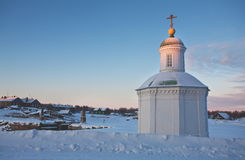 Kind on the Solovetsky monastery. Stock Photography