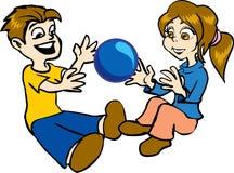 Kind-Spielen Stockbild
