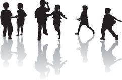 Kind-Spielen Stockfotos