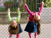 Kind-Spielen Lizenzfreie Stockfotos