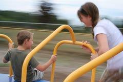 Kind-Spielplatz-Spaß Stockbild