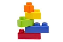 Kind-Spielzeug-Ziegelsteine Lizenzfreies Stockfoto