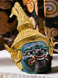 Kind of Thai drama mask Stock Photography