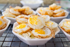 Kind of Thai style dessert with Quail eggs Stock Photography