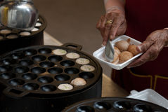 Kind of Thai sweetmeat . Stock Photography