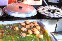 Kind of thai sweetmeat Stock Photos