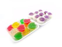 Kind of thai sweetmeat Stock Photo