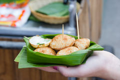 Kind of Thai sweetmeat Stock Photo