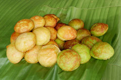 Kind of Thai sweetmeat - Kanom krok Stock Images
