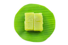 Kind of Thai sweetmeat, Multi Layer Sweet Cake (Kanom Chan) Royalty Free Stock Photography