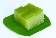 Kind of Thai sweetmeat Stock Photos