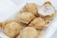 Kind of Thai sweetmeat Taro Royalty Free Stock Images