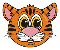 Kind Tiger muzzle Stock Images