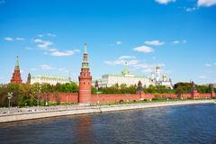 Kind to the Moscow Kremlin, Royalty Free Stock Photos