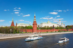 Kind to the Moscow Kremlin Royalty Free Stock Photos