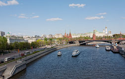 Kind to the Moscow Kremlin Royalty Free Stock Image