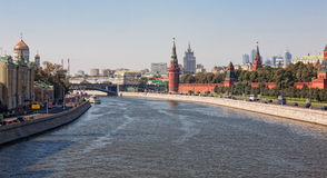 Kind to the Moscow Kremlin Royalty Free Stock Photography