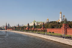 Kind to the Moscow Kremlin Stock Image