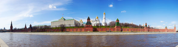 Kind to the Moscow Kremlin Royalty Free Stock Images