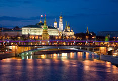 Kind to the Moscow Kremlin Stock Photography