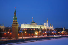 Kind to the Moscow Kremlin Stock Images