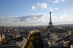 View to Paris Royalty Free Stock Photography