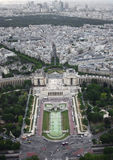 Kind to Paris from height Royalty Free Stock Photos