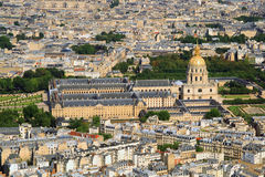 Kind to Paris from Tour d'Eiffel Royalty Free Stock Images