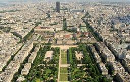 Kind to Paris from Tour d'Eiffel Stock Images