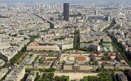 Kind to Paris from Tour d'Eiffel Stock Image