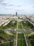 Kind to Paris from Tour d'Eiffel. France Royalty Free Stock Image