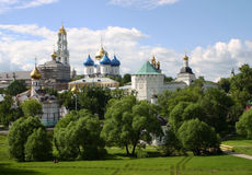 View of Sergiyev Posad in summertime, Russia Stock Image