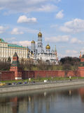 Kind To The Moscow Kremlin Stock Photo