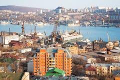 Kind to Vladivostok Royalty Free Stock Images