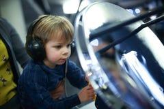 Kind tunning radar royalty-vrije stock foto's