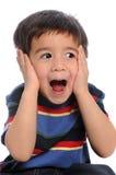 Kind-Vertretungs-Überraschung stockfotografie