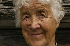Kind woman. Kind old woman stock image