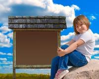 Kind-Zeichen Stockbilder