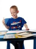 Kind-Zeichnung Lizenzfreies Stockfoto