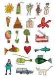 Kind zoals pictogrammen Royalty-vrije Stock Afbeelding