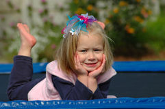 Kind zonder zorgen Royalty-vrije Stock Afbeelding