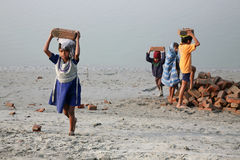 Kindarbeitskräfte Lizenzfreie Stockfotos