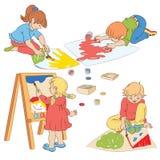 Kinder stock abbildung