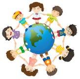 Kinder auf der Welt Lizenzfreie Stockfotos