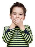 Kinder ausdrücke Lizenzfreie Stockbilder