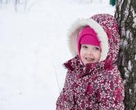 Kinder am Baum Stockbilder