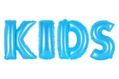 Kinder, blaue Farbe Lizenzfreies Stockbild
